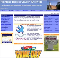 Visit the best church in the state of Tennessee - Highland Baptist
